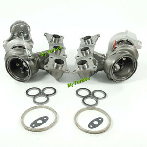Billet 6 6 17t Turbo Turbocharger State 3 For Bmw 335i 535i 3 0l N54 700hp Rhd