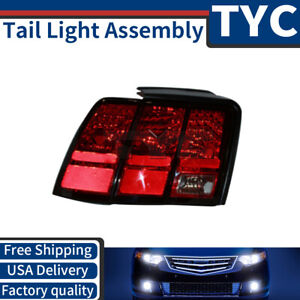 Tyc 1x Left Tail Light Lamp Assembly Replacement New For 1999 2004 Ford Mustang