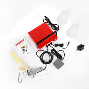 Pc03 2 Powder Coating System Portable Electrostatic Spray Paint Gun 220v 50 Hz