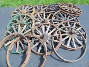 11 Ford Model T 19 25 30x3 1 2 Wooden Wheels With 3 Demountable Rims