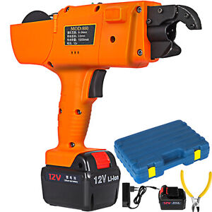 Automatic Handheld Rebar Tier Tool Tying Machine Strapping 8 34mm 13200mah