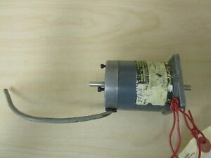 Parker Compumotor Double Shaft Motor Model A ax57 83 With Encoder