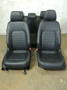 2016 Mk6 Vw Jetta Gli Leather Seats Heated Front Rear Bench Set Factory Oem 923