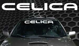 Toyota Celica Car Vinyl Windshield Body Decal Sticker Banner New Custom 1pc