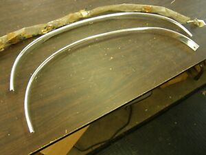 Nos Oem Ford 1968 1969 Torino Fairlane Front Wheel Lip Mouldings Short Arch
