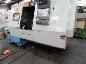 1998 Mazak Super Quick Turn 18m Sqt 18m Cnc Lathe 10 3 jaw Kitagawa Chuck 12 To