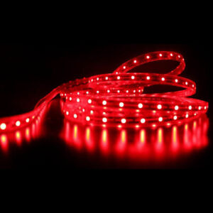 Red Led Flexible Strip Lighting 45 Lights 75cm Length about 30 Inches