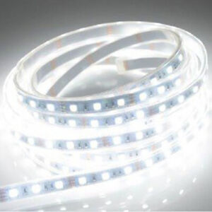 Cool White Led Flexible Strip Lighting 9 Lights 15cm About 6 Inches
