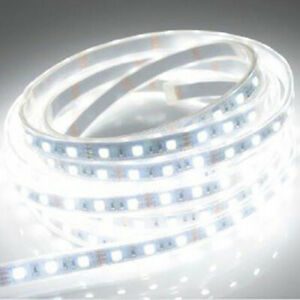 White Led Flexible Strip Lighting 15 Lights 25cm Length About 10 Inches