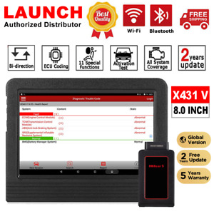 Launch X431 V Pro Full System Bi Directional Auto Diagnostic Obd2 Tablet Scanner