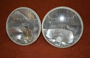Porsche 911 Sev Marchal 7 H1 H3 Headlights Vintage Rally Lights 178mm Bmw 2002