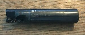 Kennametal 1 25 Indexable Milling Cutter Multi Function Kdmr1250s125mt16