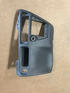 Used Oem 99 04 Ford F250 Lower Middle Dash Trim Panel Dark Gray Super Duty F350