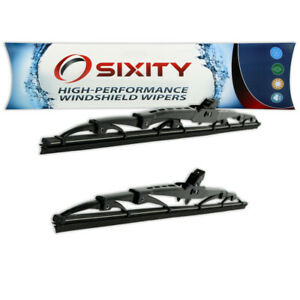 Front Windshield Wiper Blades For Volkswagen Beetle Cabrio Golf Jetta Oem Yk
