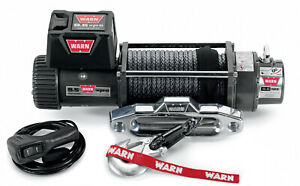 Warn 9 5xp S Winch 9500 With Synthetic Rope 87310
