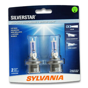 Sylvania Silverstar Low Beam Headlight Bulb For Jeep Grand Cherokee Yw