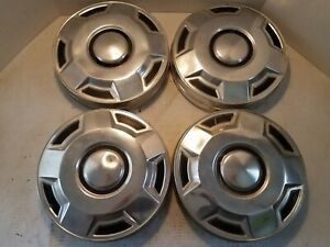 1978 1994 Ford Pickup Truck Hubcaps Dog Dish Chrome F150 15 inch Oem