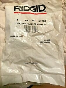 Ridgid 31750 Heel And Jaw Pin To 48 Wrench New In Pkg
