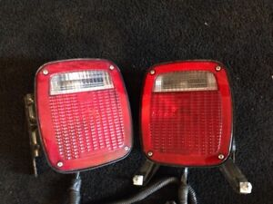 Gmc Chevrolet Oem Truck Lite Rear Tail Lights Cab Truck Chassis Trailer
