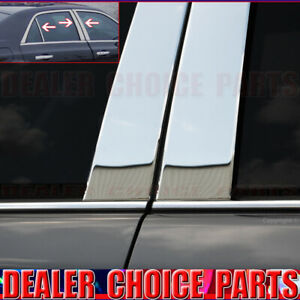 Stainless Steel 6pc Pillar Posts For 2011 12 13 14 15 16 17 18 2019 Chysler 300