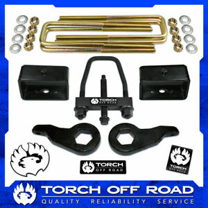 3 Front 3 Rear Lift Kit 1988 1998 Chevy Gmc K1500 4x4 4wd Z71 W Tool