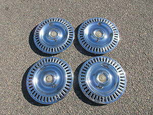 1955 1956 Chrysler Imperial 300 Wheel Covers Hub Caps