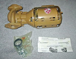 Never Used In Opened Box Bell Gossett 106192 Series 100ab 1 12hp Booster Pump