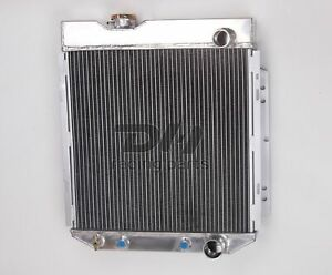 Polished 3row Aluminum Radiator For 1964 1966 1965 Ford Mustang V8 260 289 At Mt