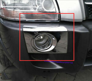 For Hyundai Tucson 2004 2012 Front Fog Light Lamps Cover Foglights Trim Abs 2x