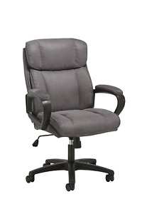 Essentials Executive Chair Mid Back Office Computer Chair Ess 3082 gry