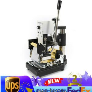 Digital Hot Foil Stamping Machine Manual Leather Logo Stamp Bronzing 15 10 Cm