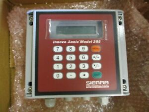 New Sierra Innova sonic Model 205 Digital Correlation Transit time Flowmeter