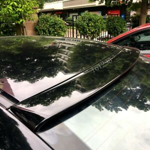 Abs Black Rear Window Roof Car Lip Spoiler Tail Wing For Honda Accord 2008 2013