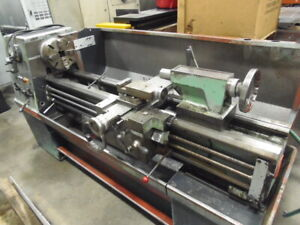 Clausing Colchester 15 Engine Lathe 15 X 50 Centers 2000 Rpm Inch metric