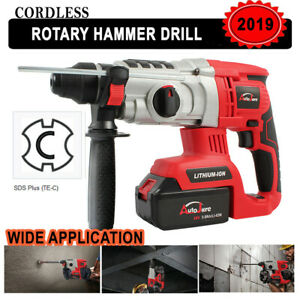 18v20v Cordless Rotary Hammer Drill Impact Sds plus Brushless Demolition Battery