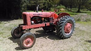 Allis Chalmers Wd Tractor Wide Front Saginaw County Three Point Hitch