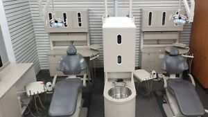 Adec 2 Room Dental Operatory Office Package Ultraleather 511 Chairs Adec Cab