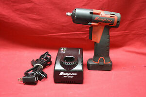 Snap On Ct761a 3 8 Drive 14 4v Microlithium Cordless Impact Wrench Kit