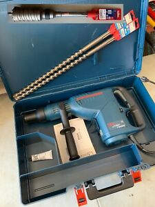 New Bosch Combination Hammer Drill 11235evs Sds Max Turbo Rotary Demolition Tool