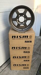 Nismo Rays Engineering Te37 X 16 6x139 7 5 5 With Center Caps And Hardware