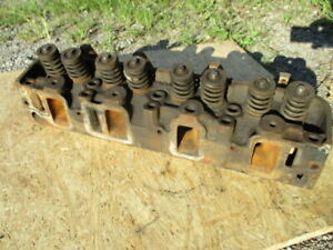 1964 Thunderbird 390 Fe Cylinder Heads C4ae g Used Pair