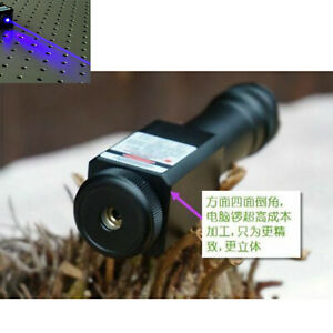 Focusable Waterproof 450nm Blue Laser Pointer Led Torch Powerful 450t 2000 f w