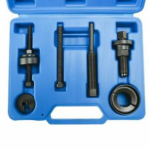 Power Steering Pump Pulley Puller Kits Removal Install Tool Set For Gm Ford New