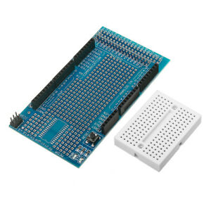 10pcs Mega2560 1280 Protoshield V3 Expansion Board With Breadboard For Arduino