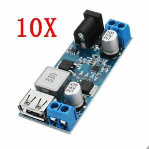 10pcs 24v 12v To 5v 5a Dc dc Buck Power Module Step Down Module Power Converte