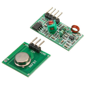 100pcs 433mhz Rf Decoder Transmitter With Receiver Module Kit For Arduino Arm Mc