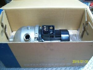 Grundfos Chi2 20 A w g bqqv Horizontal Ss Multi stage Centrifugal Pump See Below