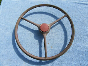 1937 1938 Chevrolet Steering Wheel