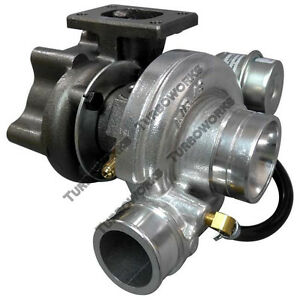 Universal Gt25 Turbo Charger Turbocharger T25 Water Banjo W 14psi Wastegate