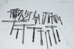 Huge Lot Of Starrett Others Telescoping Gages